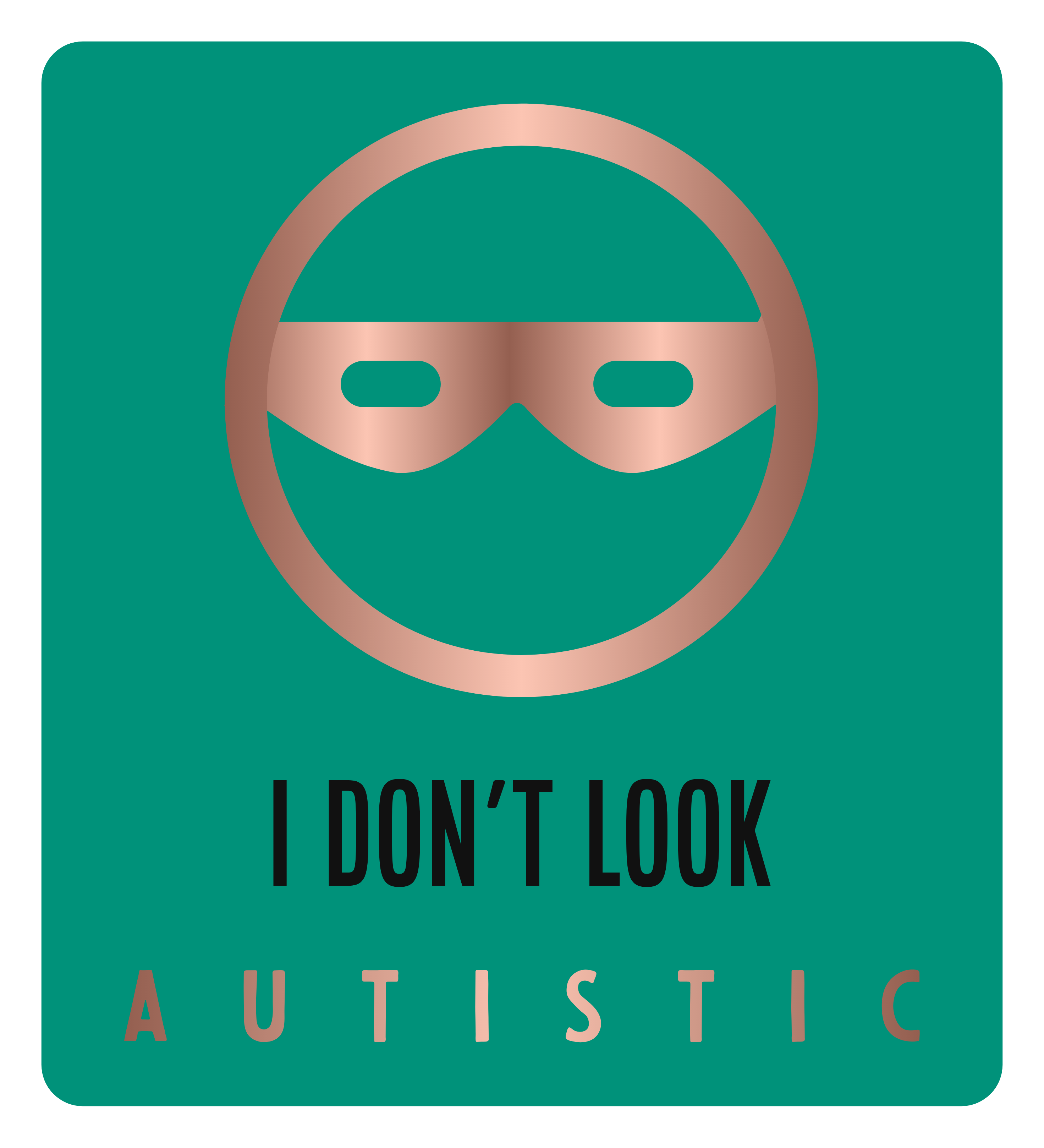 I Don't Look Autistic